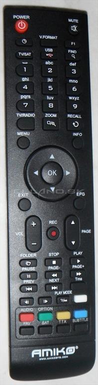 Amiko Mini HD ovládač