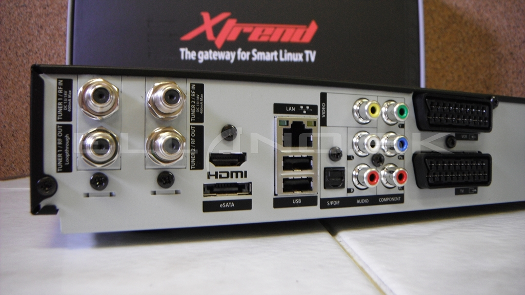X-Trend ET-9500 konektory