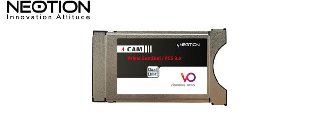 CAM Viaccess Neotion Dualcrypt ACS 3.x