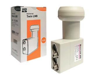 LNB MASCOM MCT02HD twin