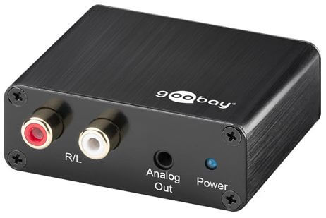 Audio prevodník SPDIF-CINCH Goobay